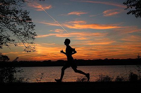 Бег по вечерам