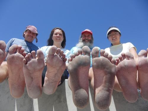 Международный день бега босиком 2012