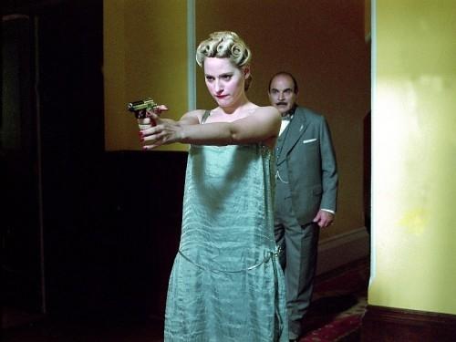Эйми Маллинз - в одной из серий телеверсии фильма «Пуаро»