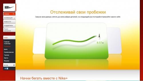 Сервис Nike +