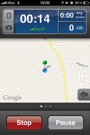 RunKeeper: Google Maps нам в помощь