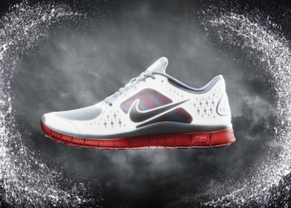 Nike Free Run + 3 Shield