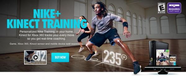 Nike+ Kinect Training на Xbox 360