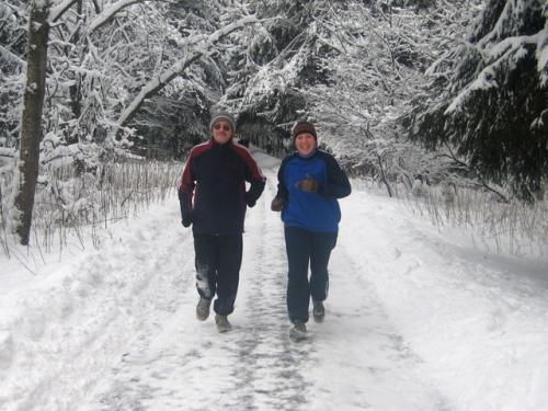 Где бегать зимой
