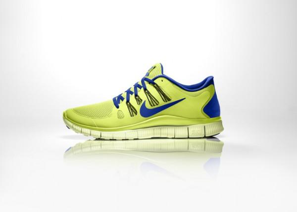 Зеленые Nike Free Run 5