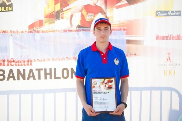 Победитель среди мужчин - Men's Health Urbanathlon 2013