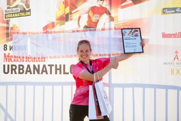 Победитель среди женщин - Men's Health Urbanathlon 2013