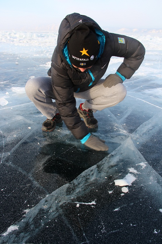 Байкальский ледовый марафон и ASICS GEL-FUJI SETSU